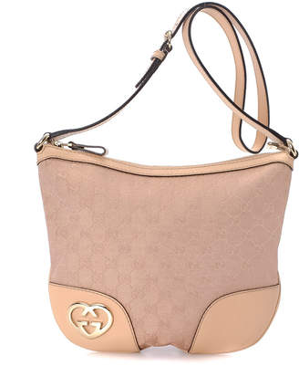 Gucci Lovely Heart-Shaped Interlocking G Hobo Bag - Vintage