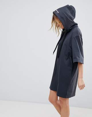 Cheap Monday Scibbled Logo Hoody Dress