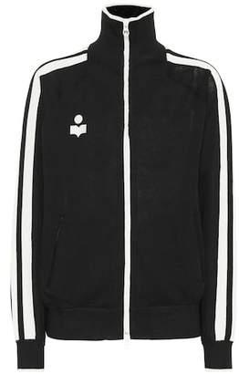 Etoile Isabel Marant Isabel Marant, Étoile Striped zip-front jacket