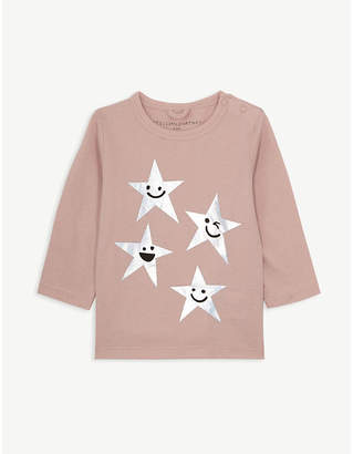 Stella McCartney Star print cotton top 3-36 months