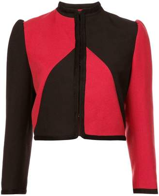 Gucci Guccy embellished cropped jacket