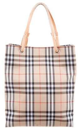Burberry Nova Check Mini Tote