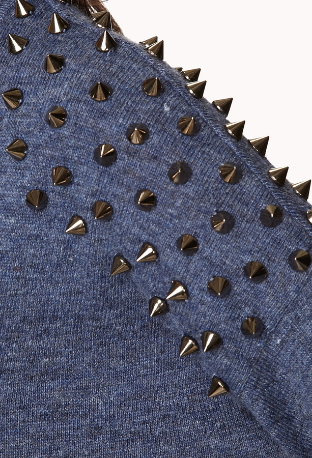 Forever 21 Standout Spiked Sweater