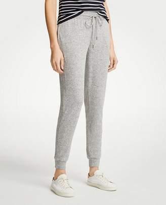 Ann Taylor Marled Knit Jogger Pants