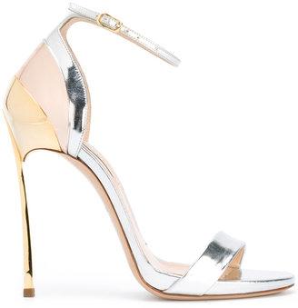 Casadei Techno Blade sandals $692.79 thestylecure.com