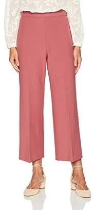 Rebecca Taylor Women's Crop Suit Pant
