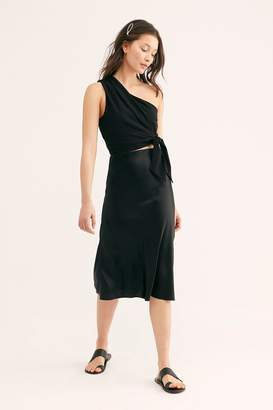Nightcap Clothing Bias Cut Silk Skirt