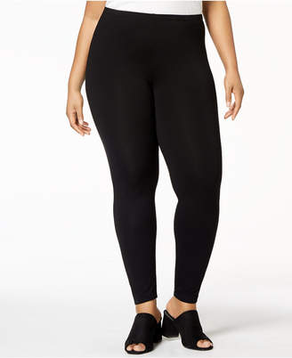Eileen Fisher Plus Size System Jersey Knit Ankle Leggings