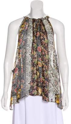 Isabel Marant Printed Sleeveless Top