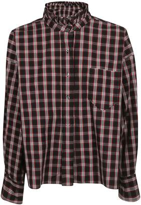 Etoile Isabel Marant Check Loose Fitted Shirt