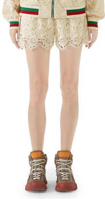 Gucci Lace Shorts
