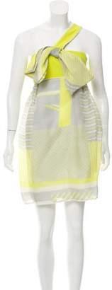 Thread Social Silk Mini Dress