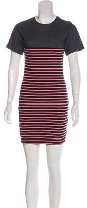 Alexander Wang Stripe Mini Dress