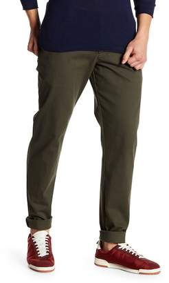 Parke & Ronen Solid Stretch Knit Moleskin Trousers