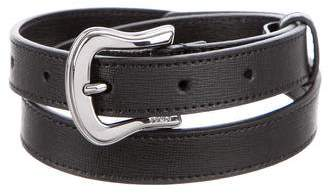 Fendi Leather Hip Belt