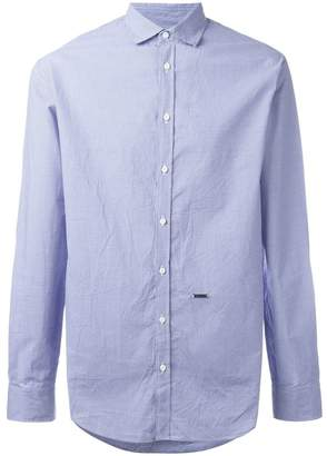 DSQUARED2 small dot checked shirt