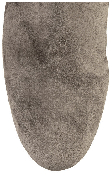 Lanvin Suede concealed wedge knee boots