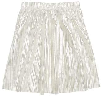 J.Crew crewcuts by Metallic Micropleated Skirt