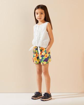 Jigsaw Citrus Soft Tie Shorts