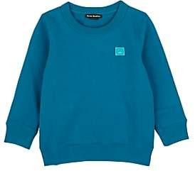 Acne Studios Kids' Mini Fairview Cotton Sweatshirt-Blue