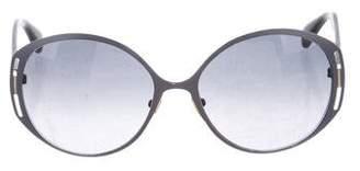 Alexander McQueen Oversize Tinted Sunglasses