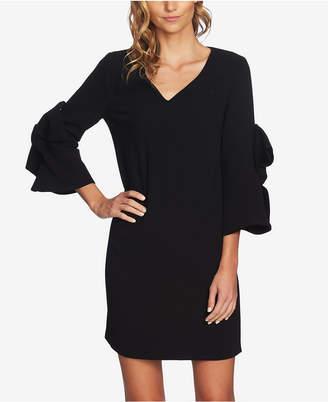 CeCe Bow-Embellished Shift Dress