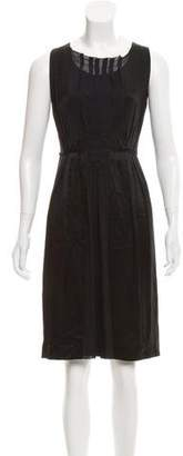 Philosophy di Alberta Ferretti Sleeveless Silk Dress