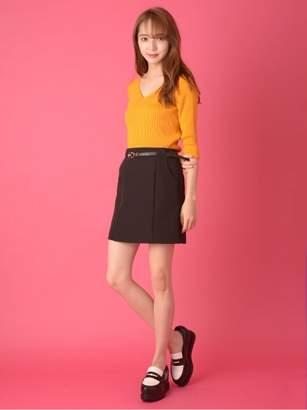 CECIL McBEE (セシル マクビー) - セシルマクビー ベルト付きミニスカート