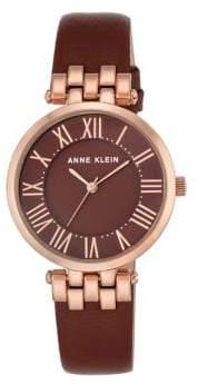 Anne Klein Womens Analog Fashion Strap Watch
