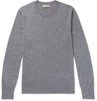 Burberry Mélange Cashmere Sweater