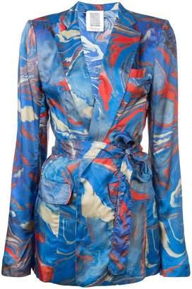 Rosie Assoulin printed blazer