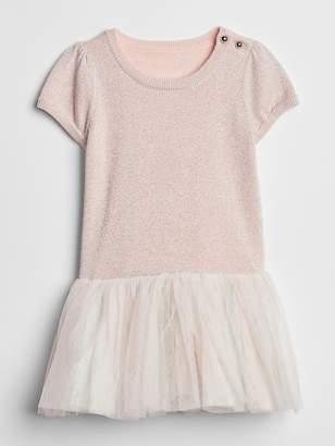 Gap Short Sleeve Tutu Dress