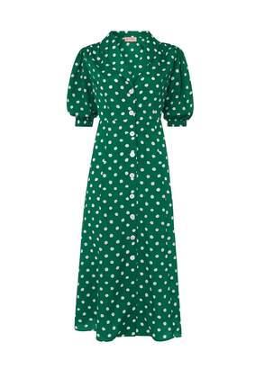 Kitri Siena Polka Dot Tea Dress