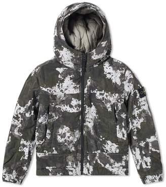 Stone Island Junior Nylon Metal Camouflage Hooded Jacket