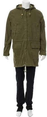 Jack Spade Hooded Field Jacket w/ Tags