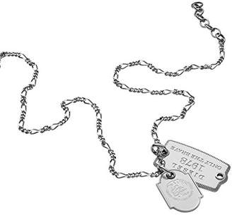 Diesel Men Stainless Steel Pendant Necklace - DX1132040