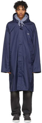 Vetements Navy Leo Horoscope Raincoat