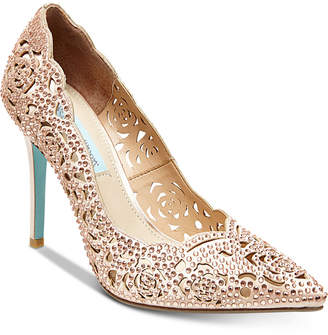 Betsey Johnson Blue by Elsa Evening Pumps Women's Shoes