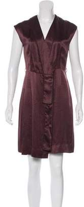 Marc Jacobs Silk Abstract Print Dress