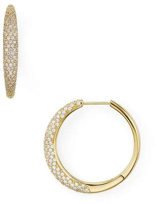Nadri Pavé Bombay Huggie Earrings