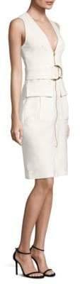 Diane von Furstenberg Cotton Zip-Front Dress