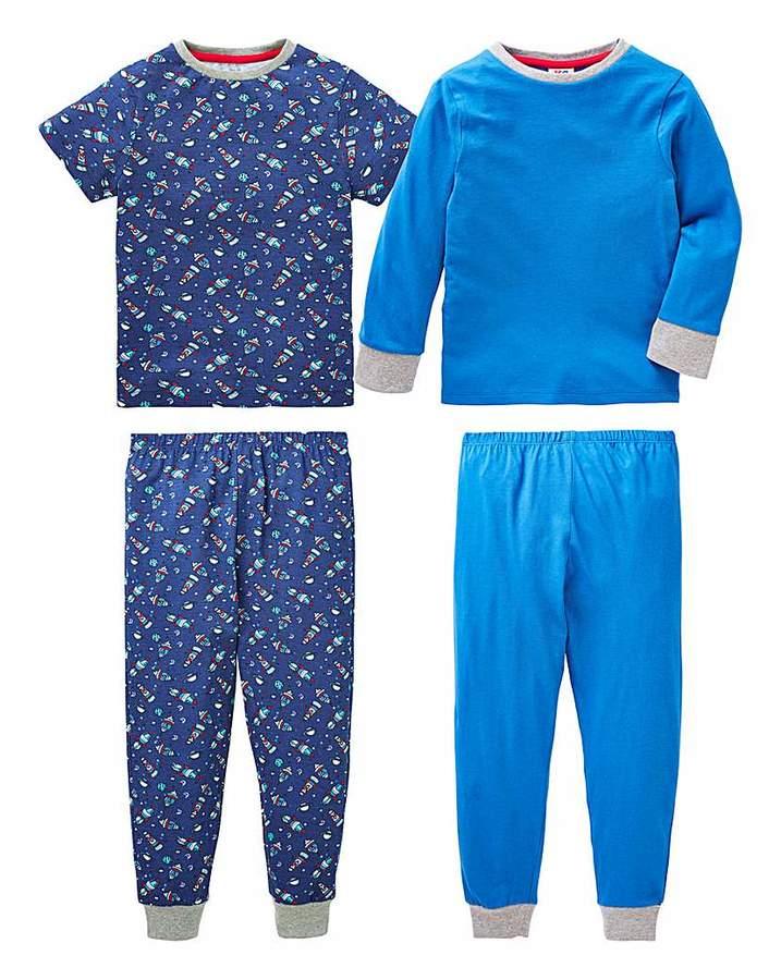 KD Boys Pack of Two Pyjamas