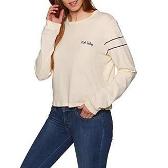 Hurley Women's Apparel Junior's Graphic Long Sleeve T Shirt