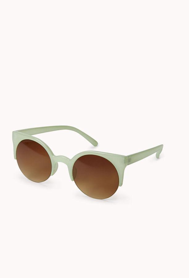 Forever 21 F2009 Half-Frame Sunglasses