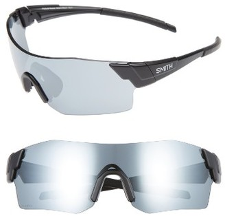 Women's Smith Pivlock(TM) Arena 120Mm Sunglasses - Matte Black $189 thestylecure.com
