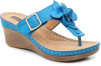 GC Shoes Flora Wedge Sandal - Women's