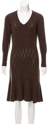 Louis Vuitton Wool-Blend Dress