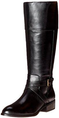 Lauren Ralph Lauren Women's Maryann Wide-Calf Riding Boot $179 thestylecure.com