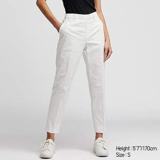 Uniqlo Women's Ezy Satin Ankle-length Pants