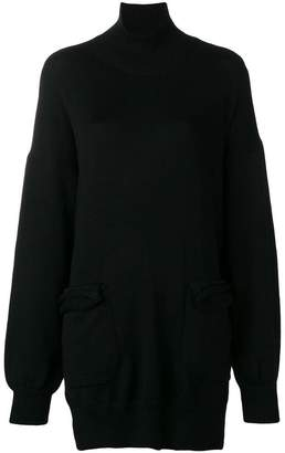 Y's loose sweater with pockets